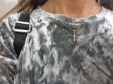 Крестик (золотая подвеска)