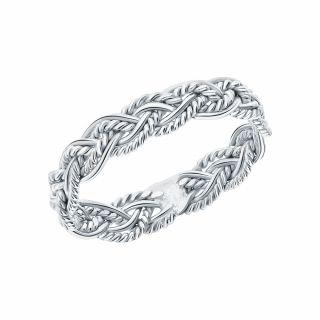 Серебряное кольцо: белое серебро 925 пробы — купить в интернет-магазине SUNLIGHT, фото, артикул 167308