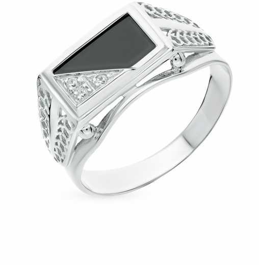 Мужские серебряные кольца — купить мужское кольцо из серебра ... dddaaeace7f06