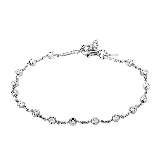 Серебряный браслет CHRYSOS  белое серебро 925 пробы — купить в интернет- магазине SUNLIGHT, фото, артикул 63668 a5399b562c9