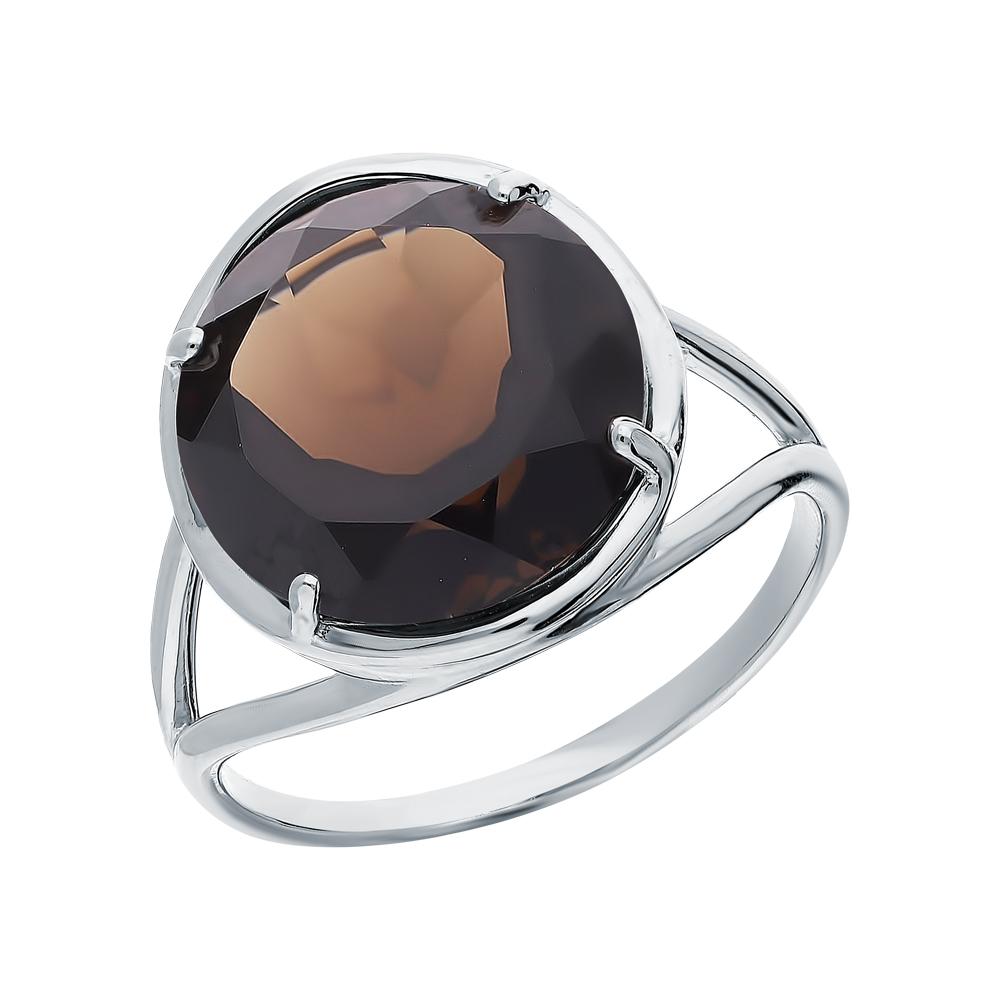 Серебряное кольцо с раухтопазами в Санкт-Петербурге