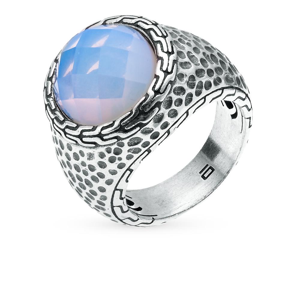 Фото «кольцо из серебра с опалом синтетическим»