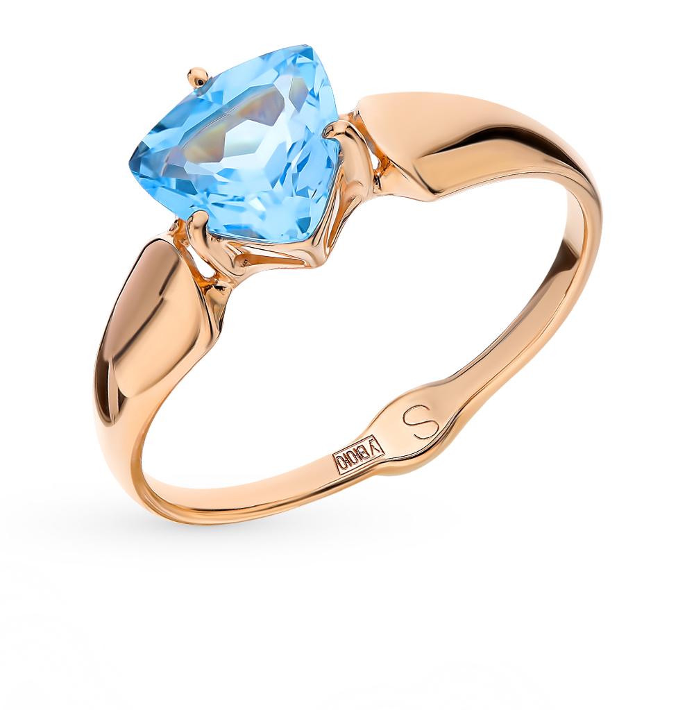 Золотое кольцо с топазами SOKOLOV 715225* в Екатеринбурге