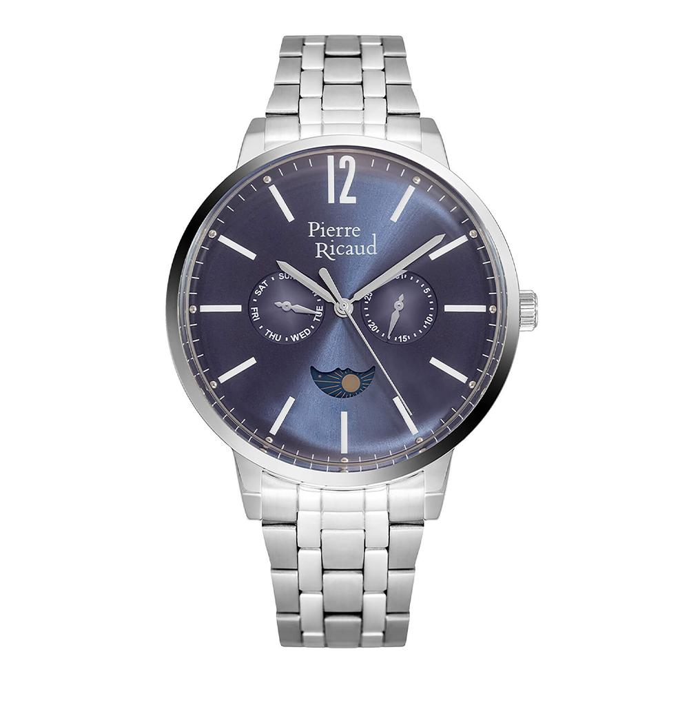 Фото «Мужские кварцевые часы P97246.5155QF на стальном браслете с минеральным стеклом»