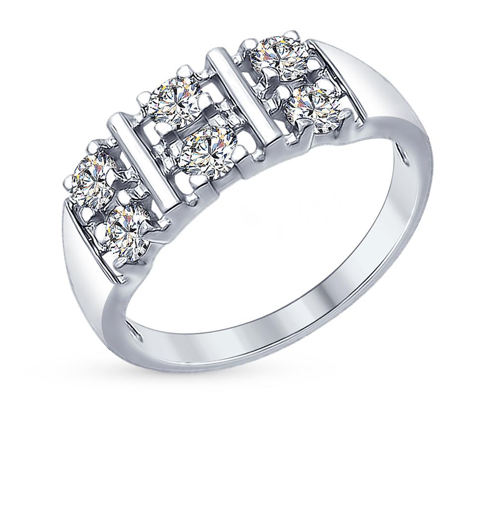 Серебряное кольцо с фианитами SOKOLOV 94012306 в Екатеринбурге