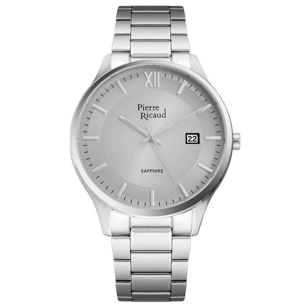 Фото «Мужские кварцевые часы P97262.5167Q на стальном браслете с сапфировым стеклом»