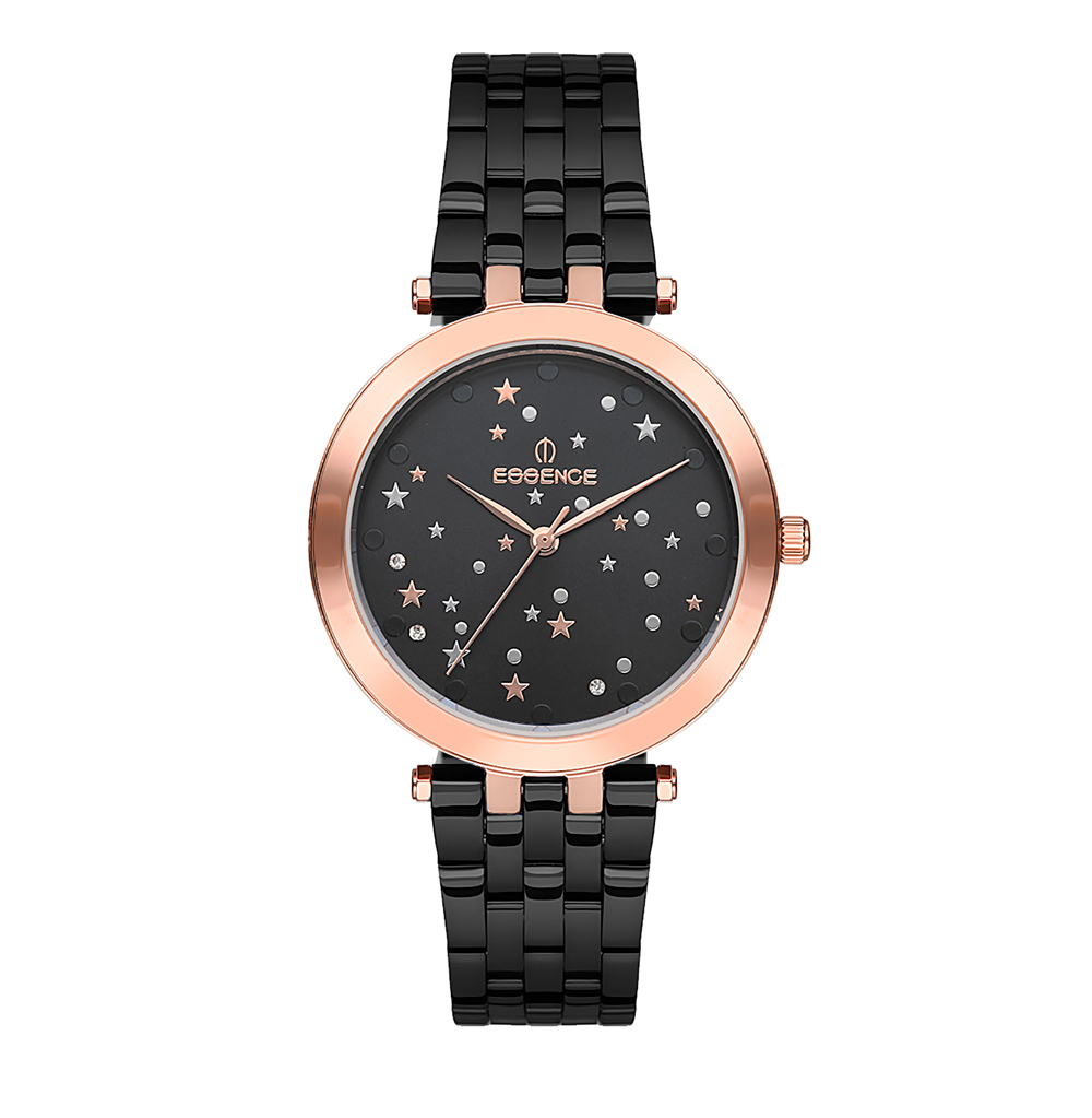 Фото «Женские  кварцевые часы ES6499FE.060 на стальном браслете с минеральным стеклом»