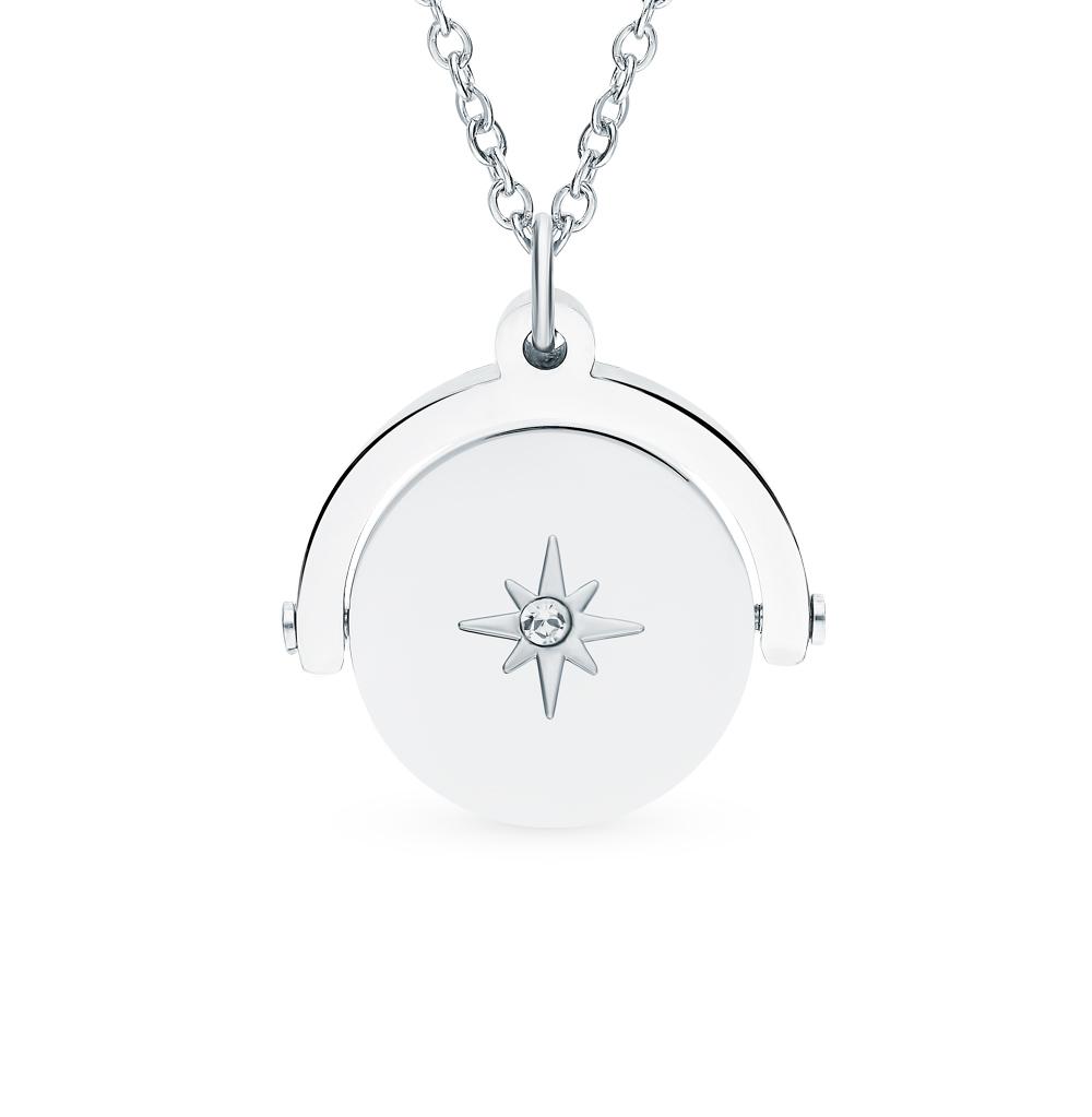 Шейное украшение с кристаллом