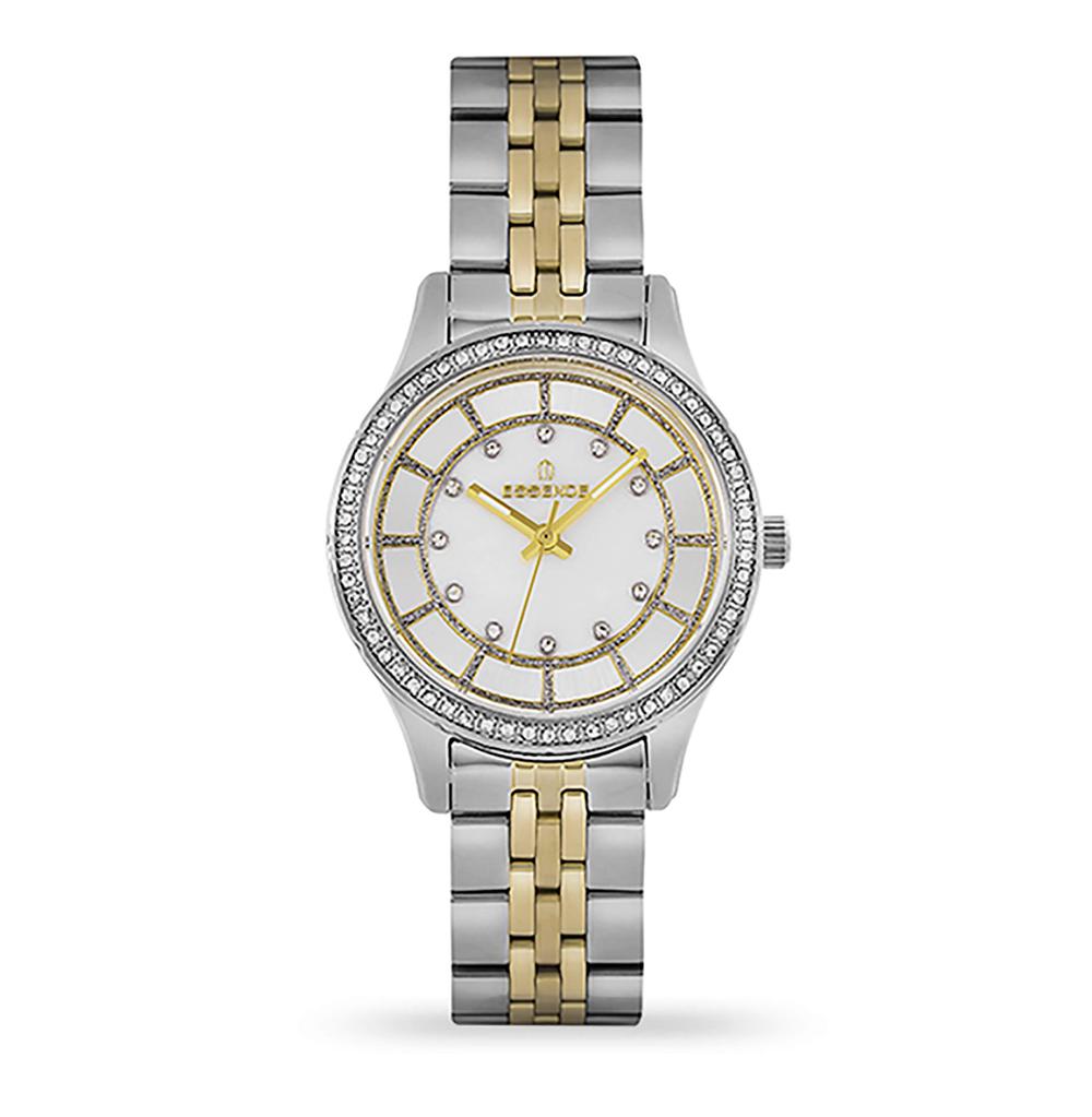 Фото «Женские  кварцевые часы ES6542FE.220 на стальном браслете с минеральным стеклом»