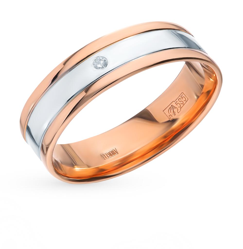 золотое кольцо с бриллиантами SOKOLOV 1110161*