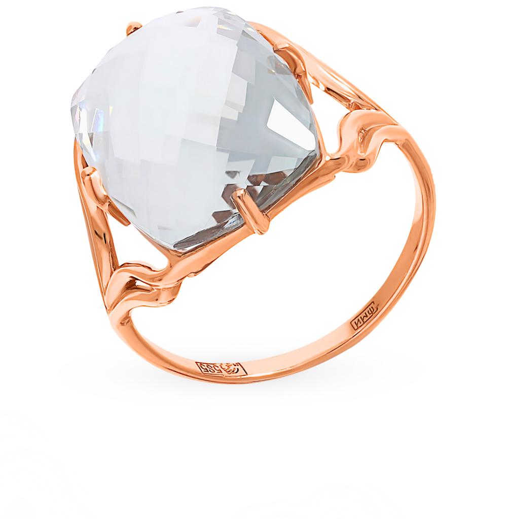 Фото «Золотое кольцо с аметистами зелёными и празиолит»