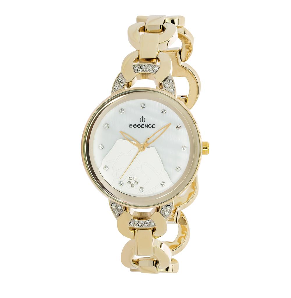 Женские часы D939.120 на стальном браслете с PVD покрытием с минеральным стеклом