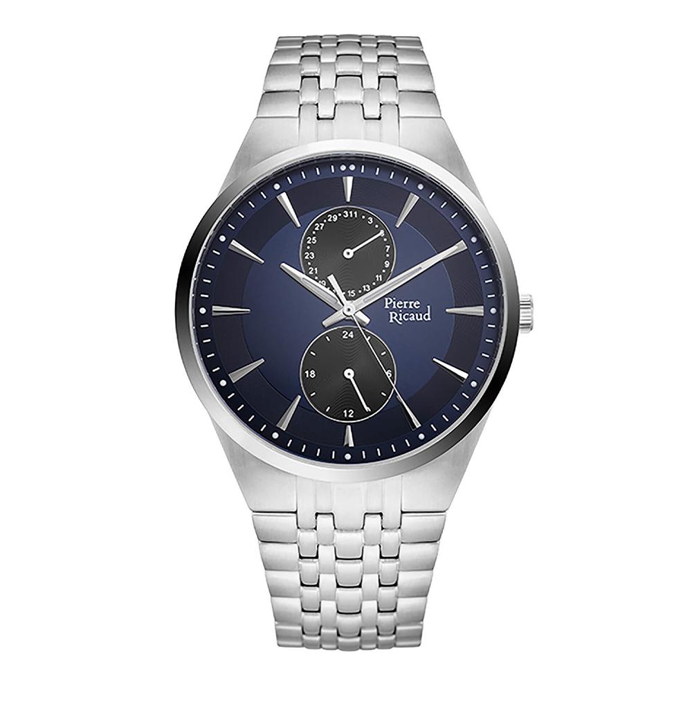 Фото «Мужские кварцевые часы P97251.5115QF на стальном браслете с минеральным стеклом»