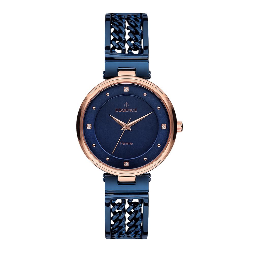 Фото «Женские часы D1071.990 на стальном браслете с IP покрытием с минеральным стеклом»