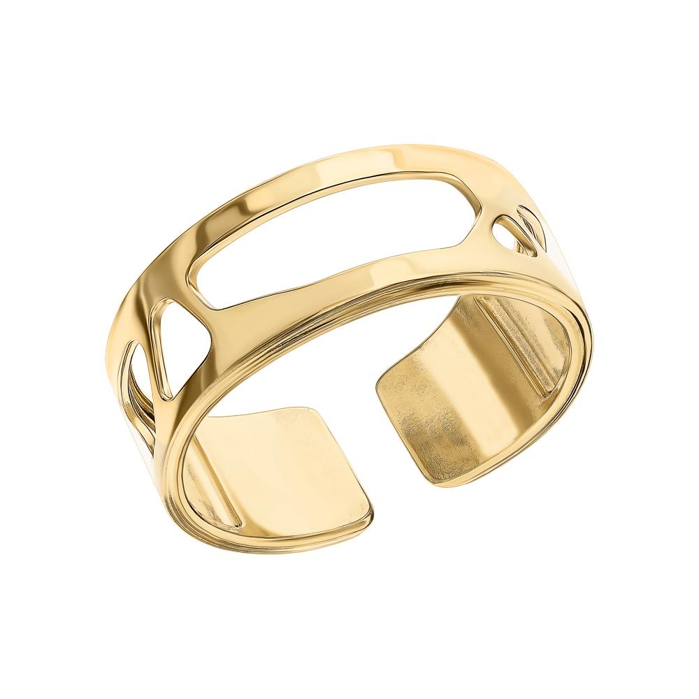 Фото «Стальное кольцо с вставками для кольцами»