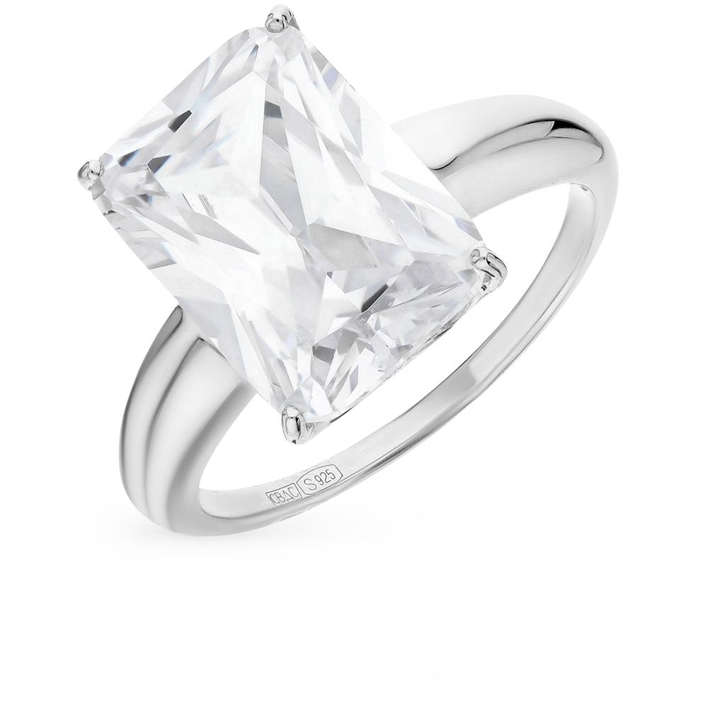 серебряное кольцо с фианитами SOKOLOV 94012078
