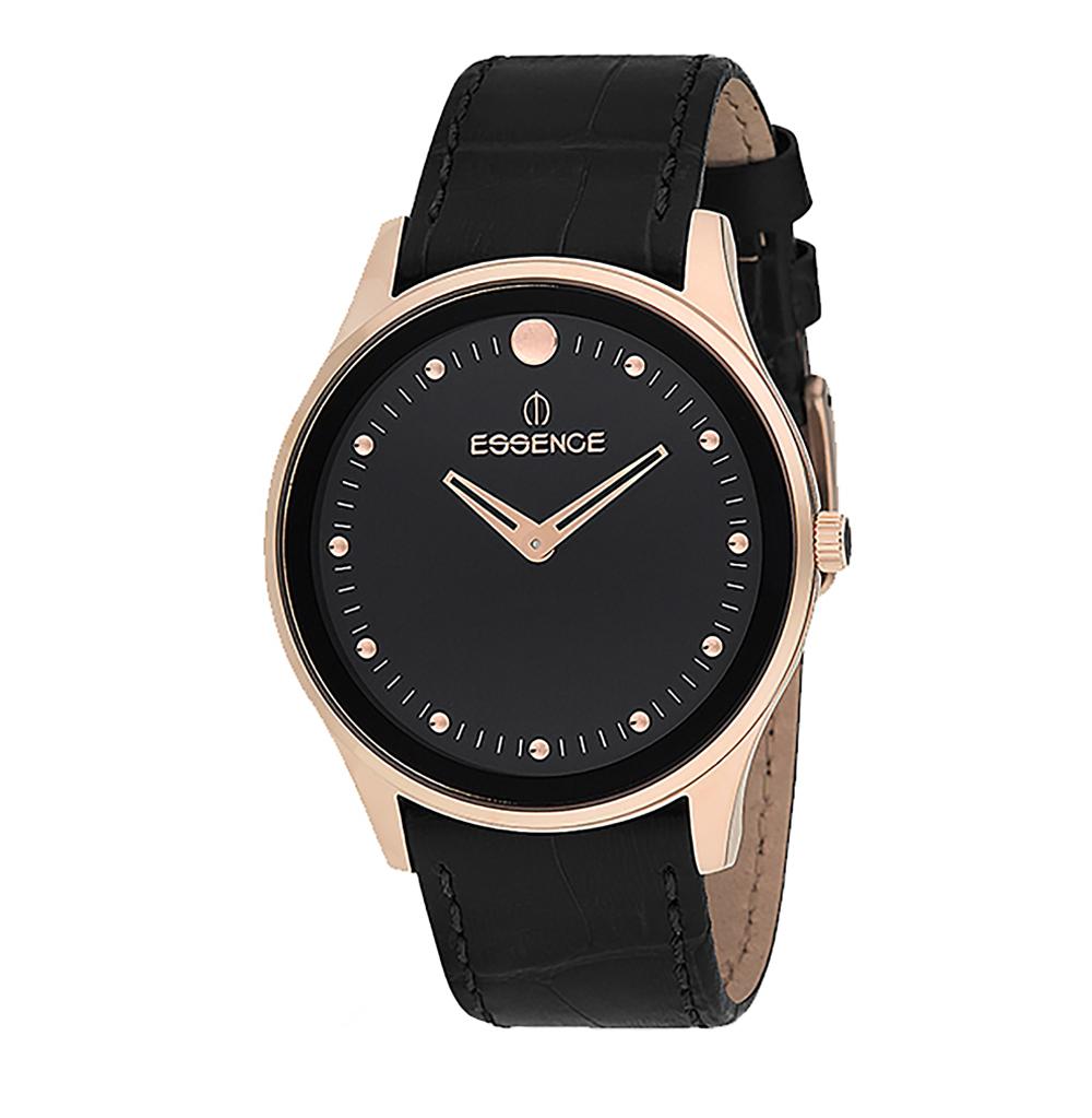 Мужские часы ES6425ME.451 на кожаном ремешке с минеральным стеклом