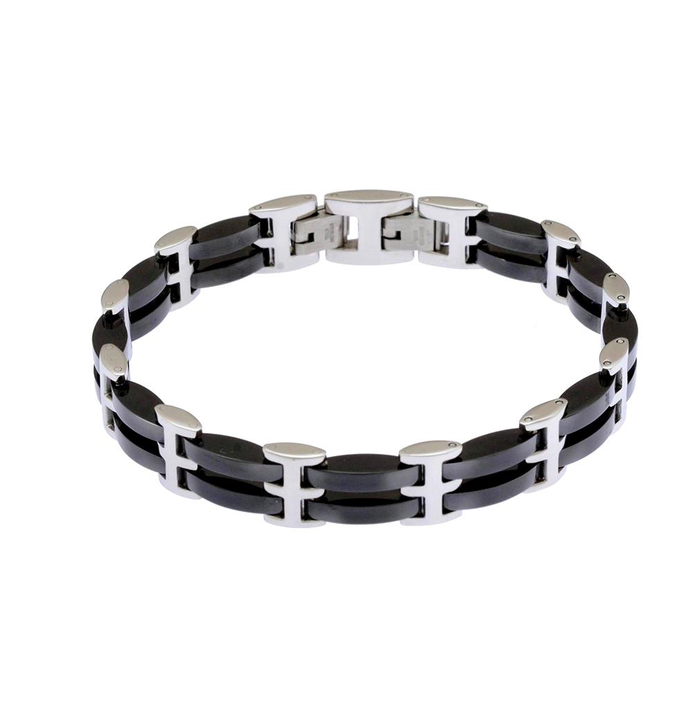 стальной браслет со сталью