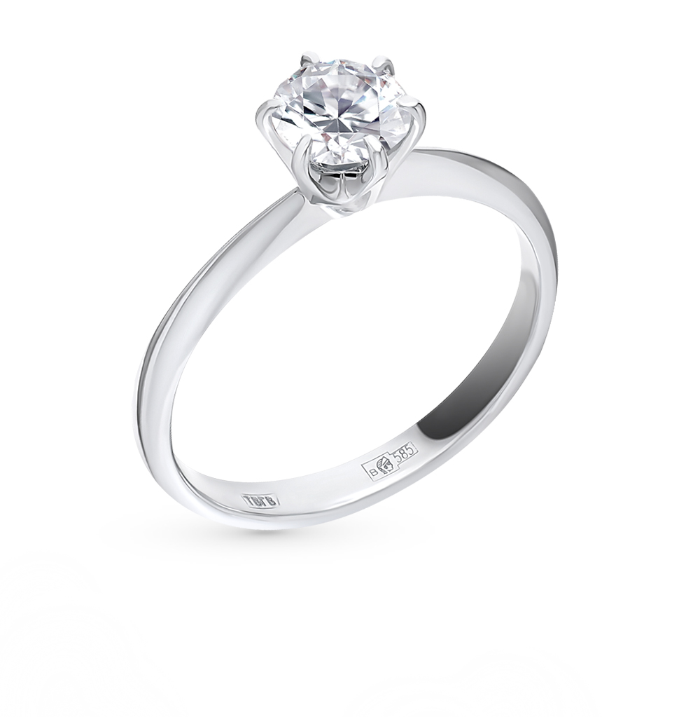 5f08801a5e6d Золотое кольцо SUNLIGHT «Бриллианты Якутии» 3536-K5W-01  белое ...