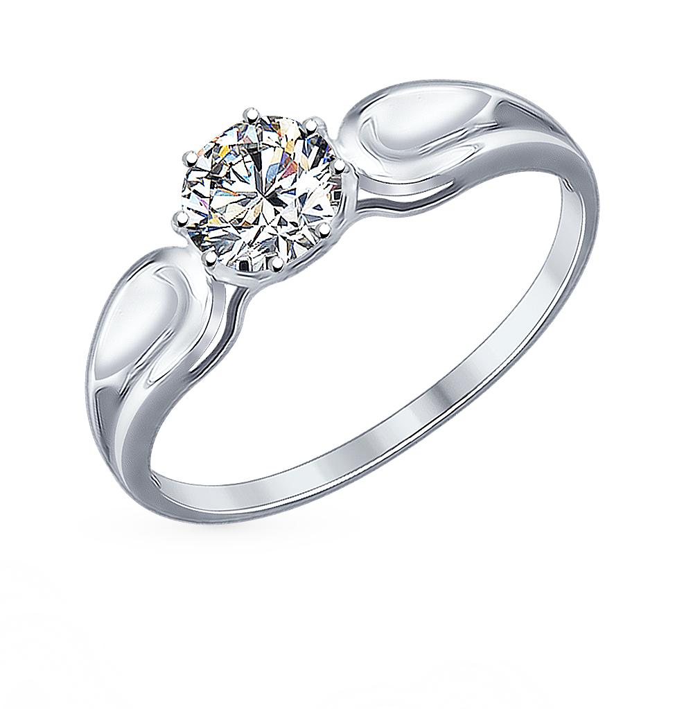 Фото «Серебряное кольцо с фианитами SOKOLOV 94012115»