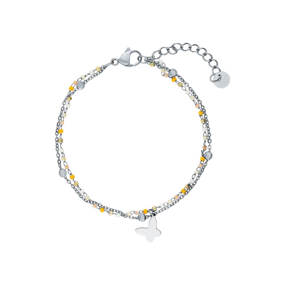 Фото «Серебряный браслет с алпанитом»