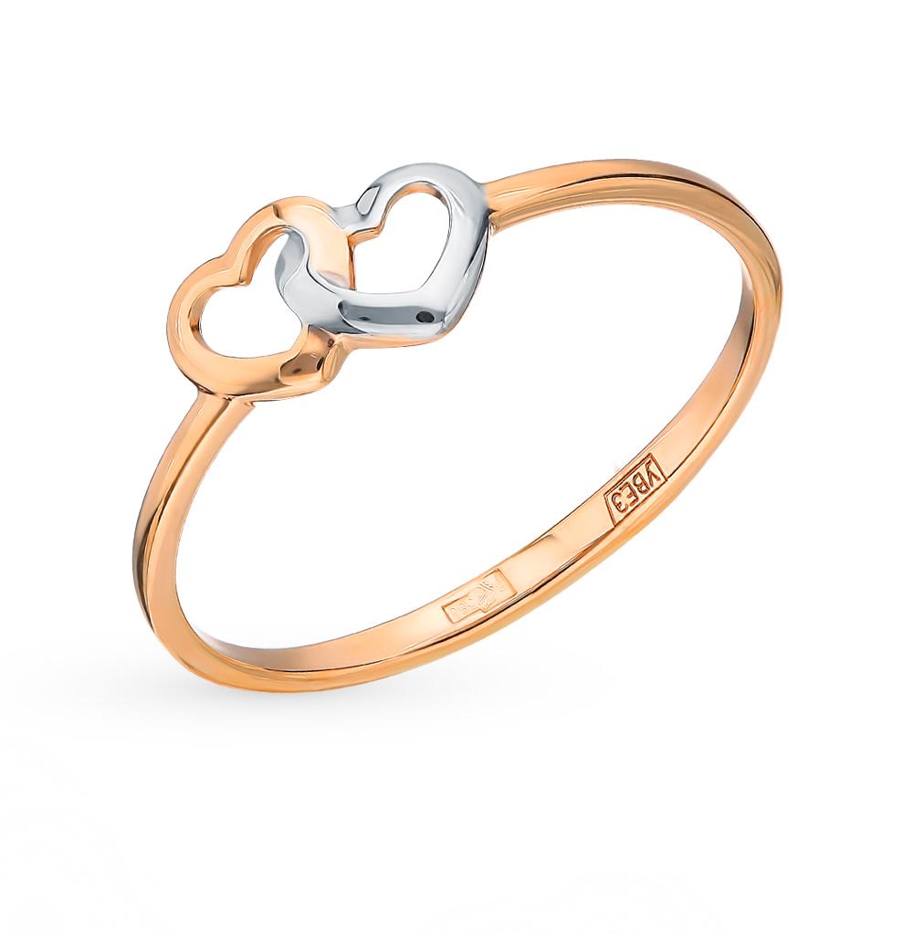 золотое кольцо SOKOLOV 017128*