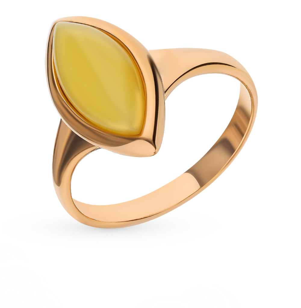 Серебряное кольцо с янтарем в Санкт-Петербурге