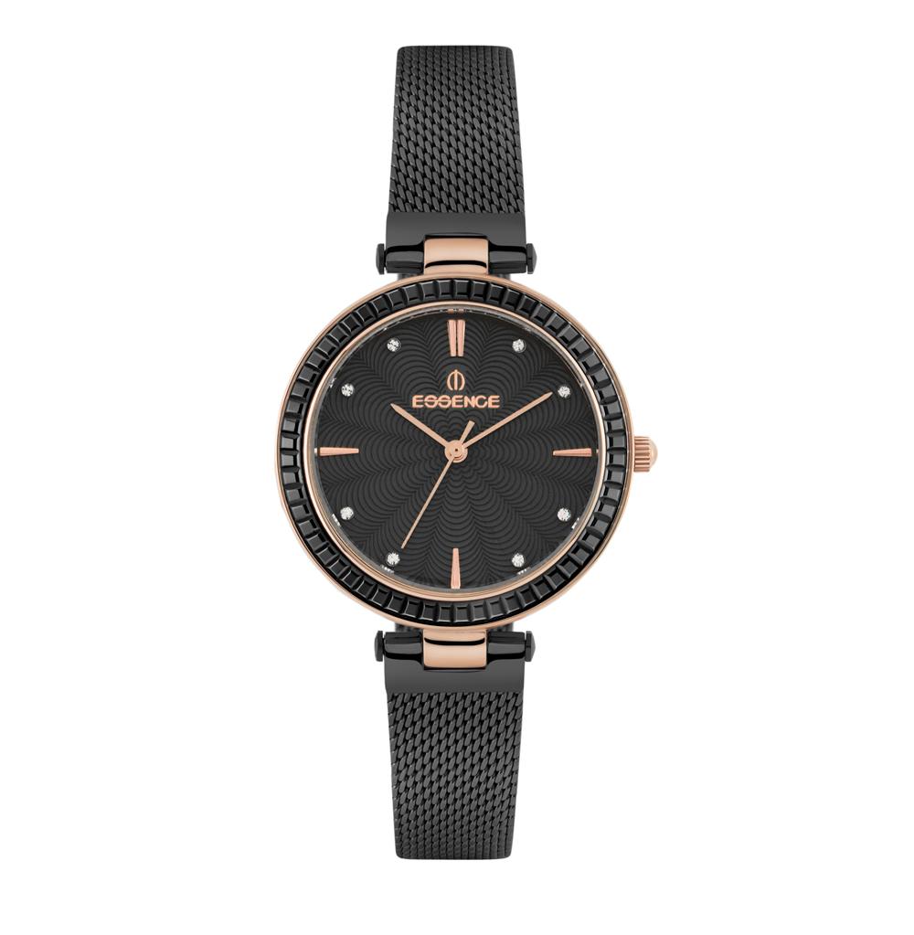 Фото «Женские  кварцевые часы ES6501FE.450 на стальном браслете с минеральным стеклом»