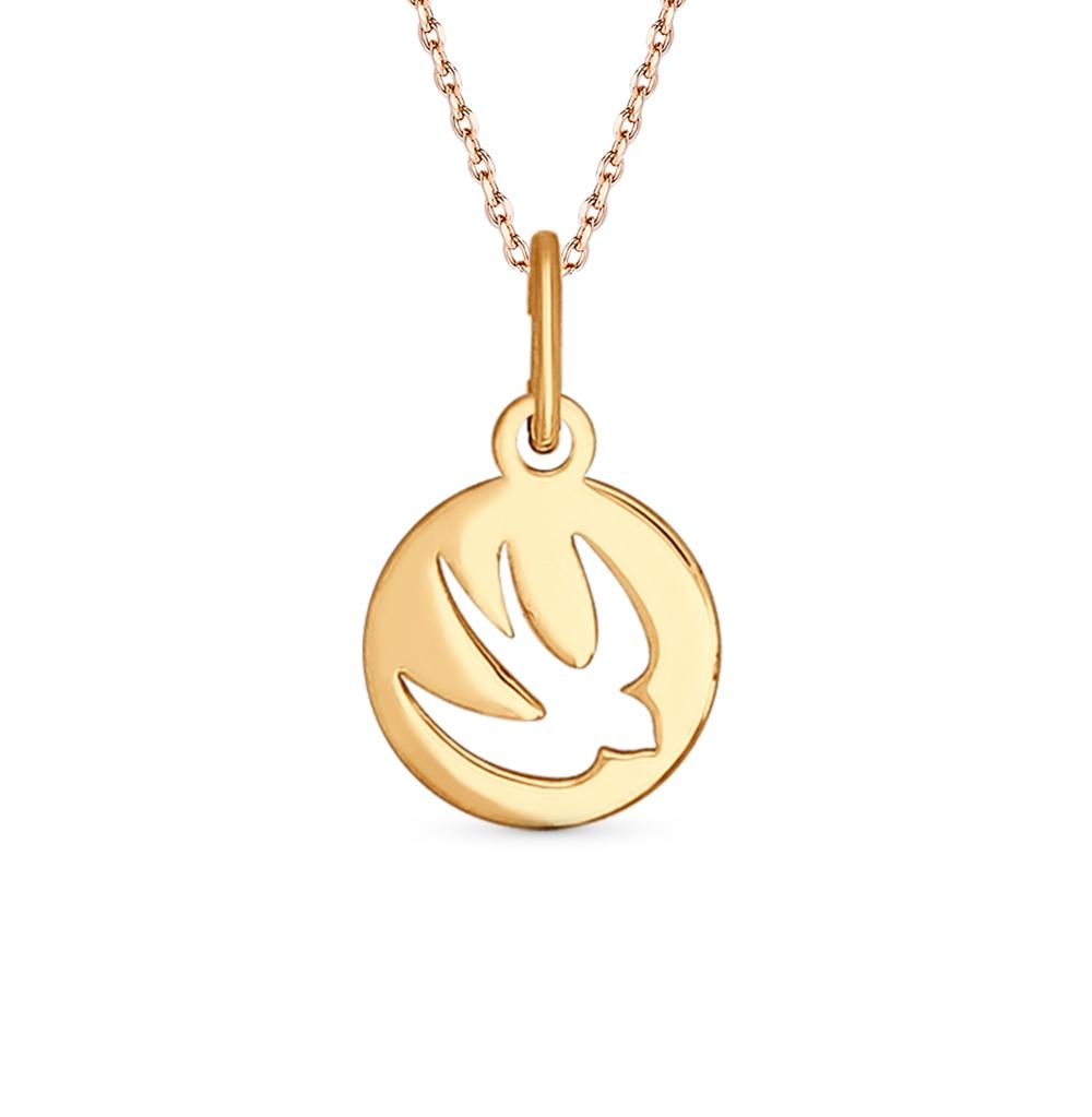 золотая подвеска SOKOLOV 034674*