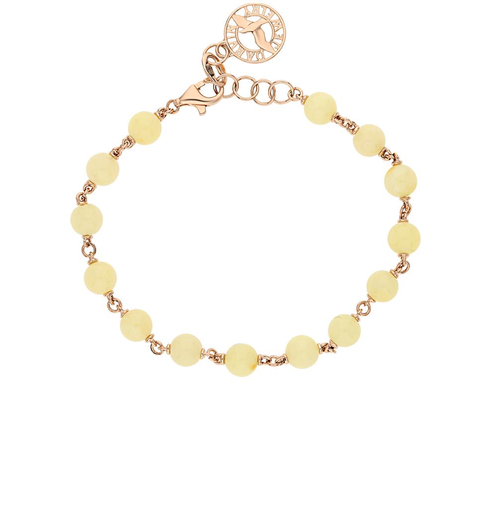 Фото «золотой браслет с янтарем»