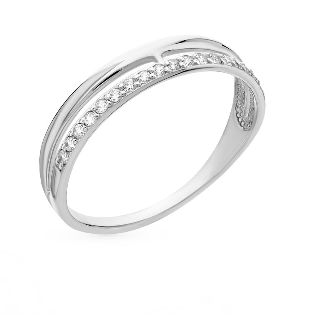 золотое кольцо с фианитами SOKOLOV 017151-3*