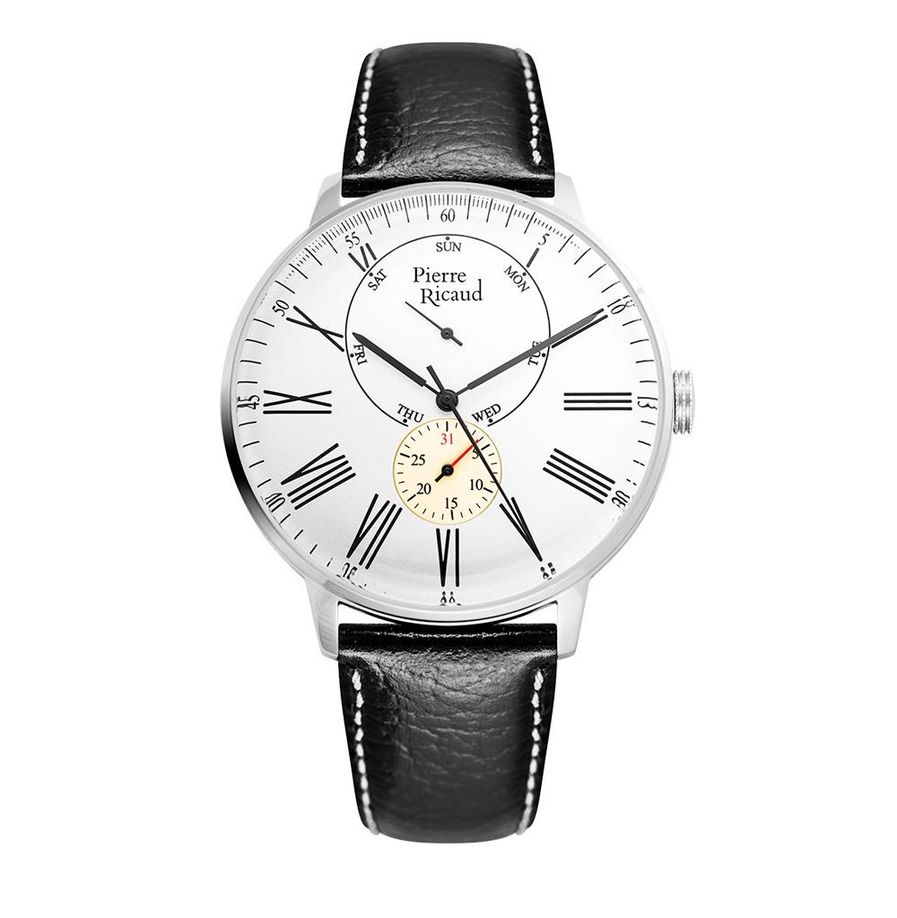 Фото «Мужские часы P97219.5233QF на кожаном ремешке с минеральным стеклом»