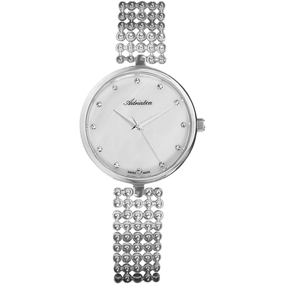 Женские часы A3731.514FQ на стальном браслете с минеральным стеклом