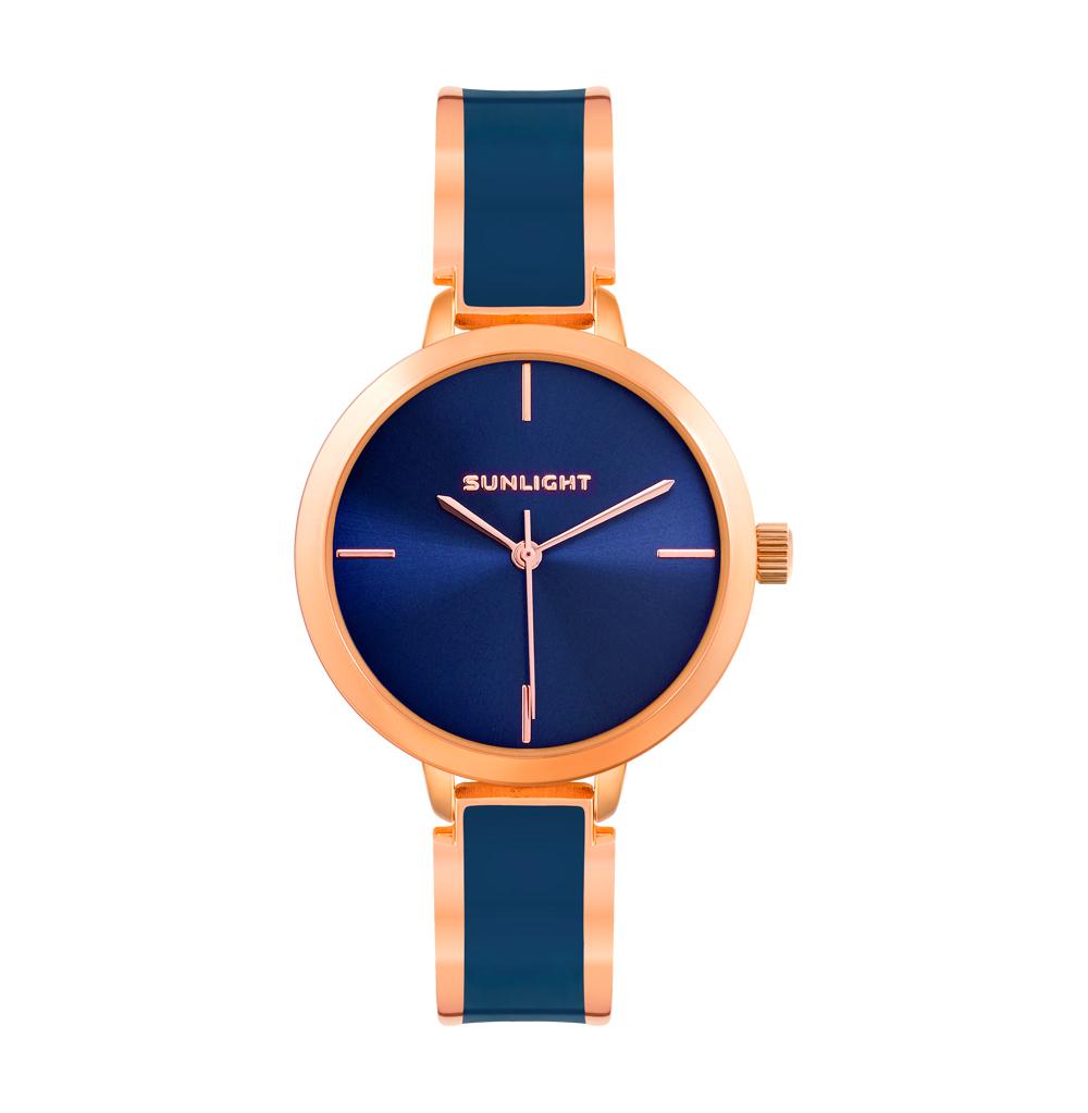Женские часы на металлическом браслете с эмалью в Екатеринбурге