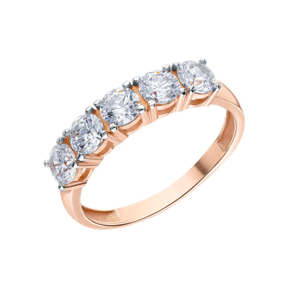 Фото «Серебряное кольцо с фианитами swarovski»