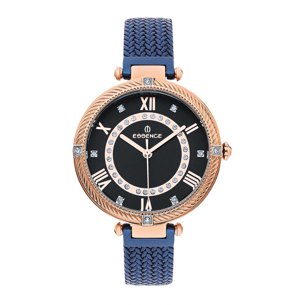 Фото «Женские  кварцевые часы ES6515FE.490 на стальном браслете с минеральным стеклом»