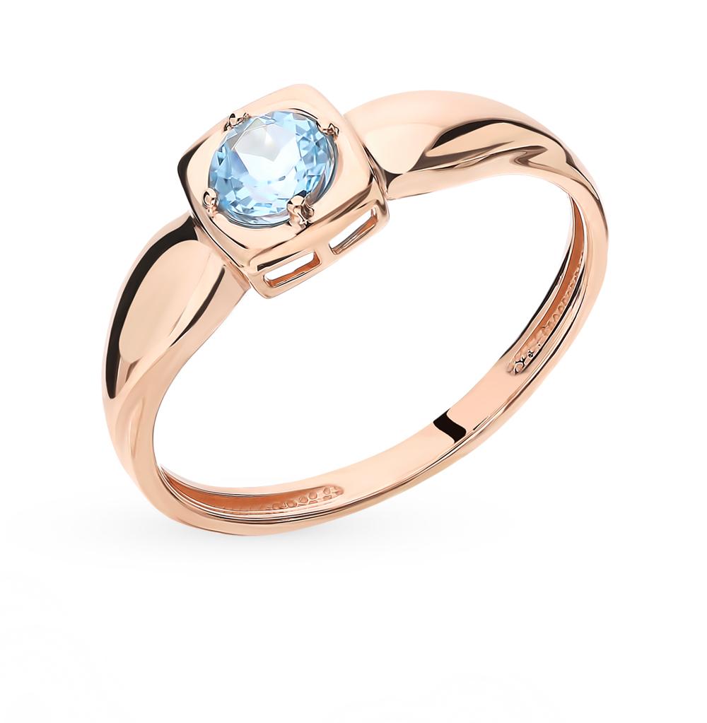 Золотое кольцо с топазом в Екатеринбурге