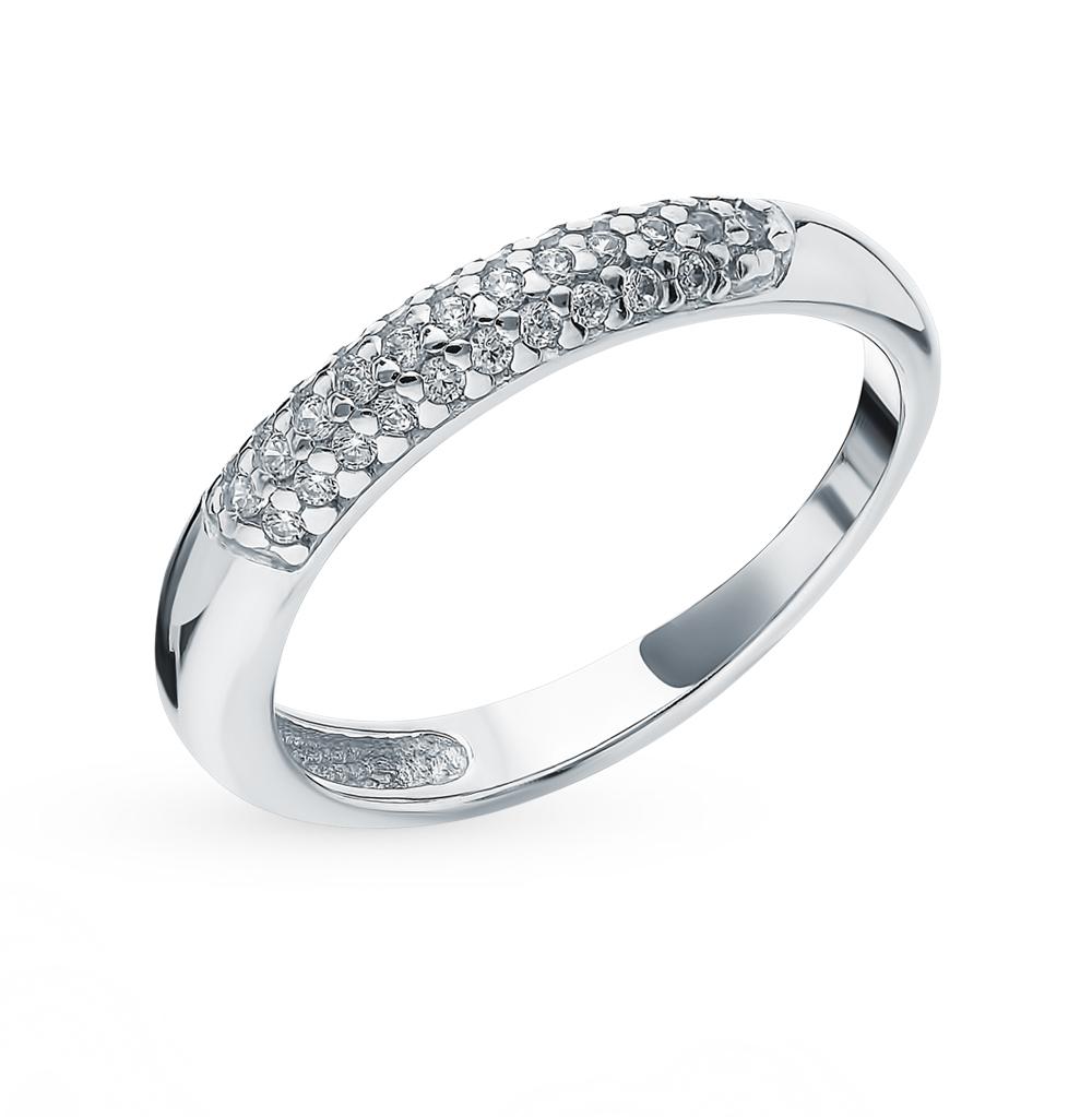 Фото «Серебряное кольцо с фианитами SOKOLOV 94012664»