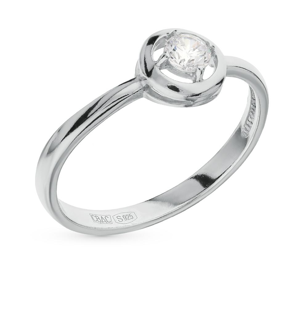 серебряное кольцо с фианитами SOKOLOV 94011569