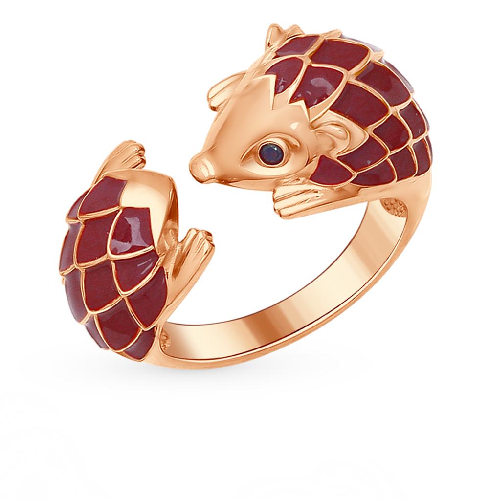 серебряное кольцо с фианитами SOKOLOV 93010556