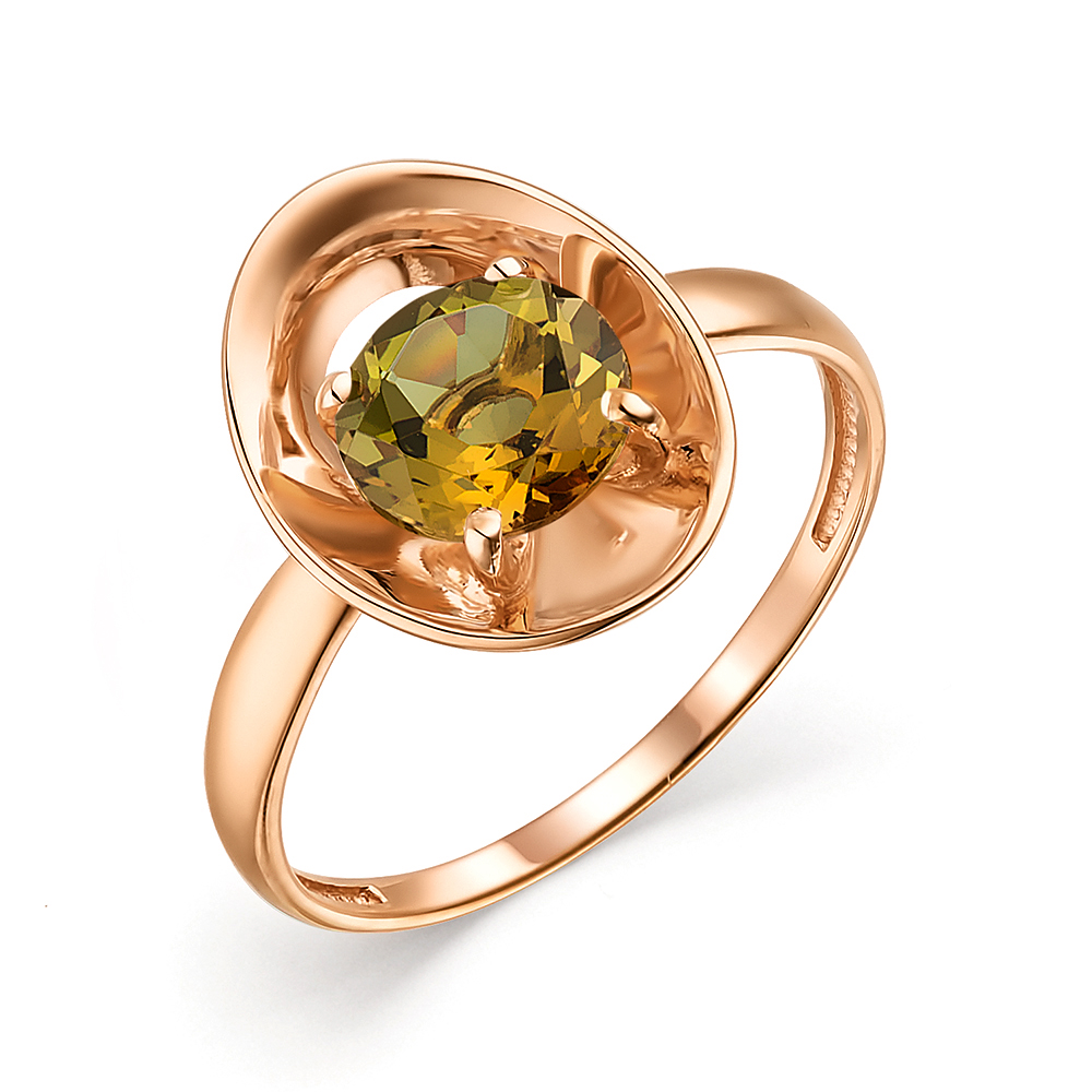 Золотое кольцо с султанитами в Санкт-Петербурге