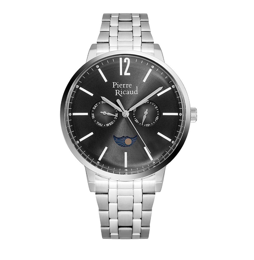 Фото «Мужские кварцевые часы P97246.5154QF на стальном браслете с минеральным стеклом»