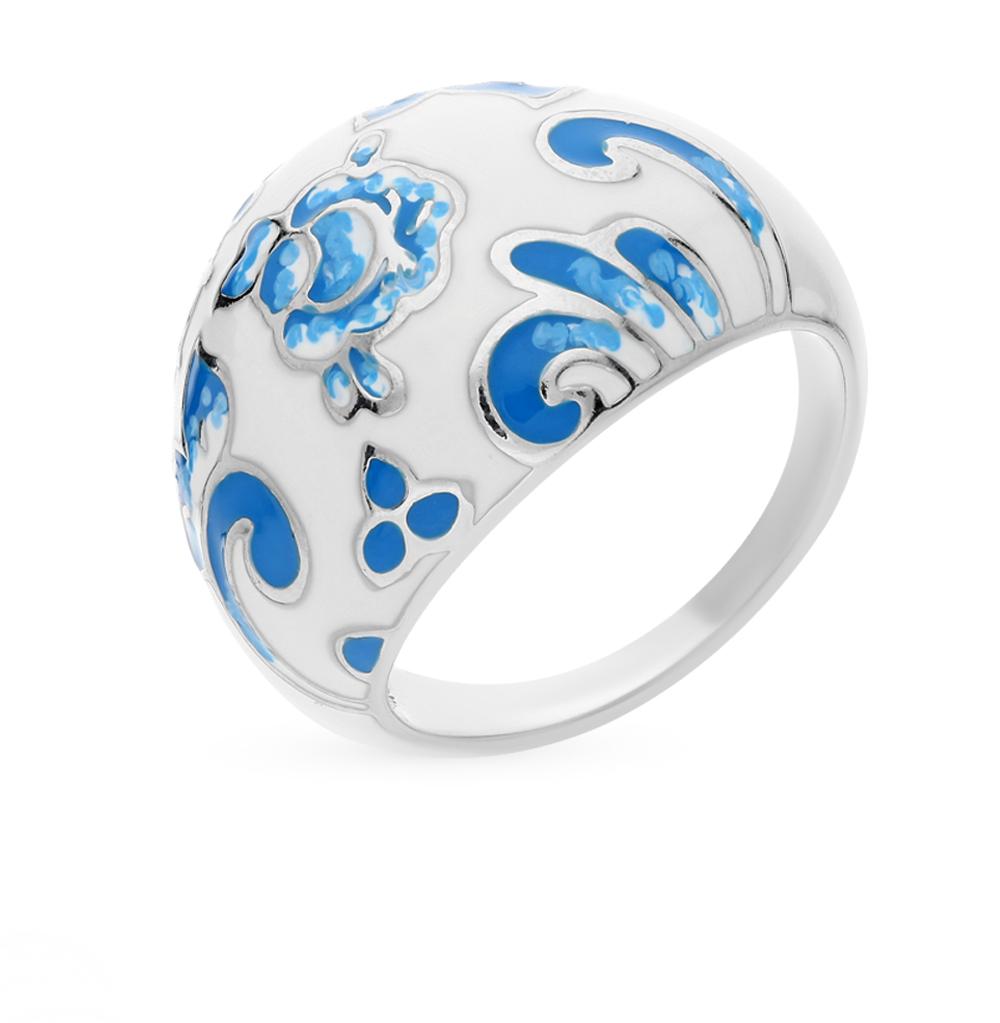 Фото «Серебряное кольцо с эмалью SOKOLOV 94011167»