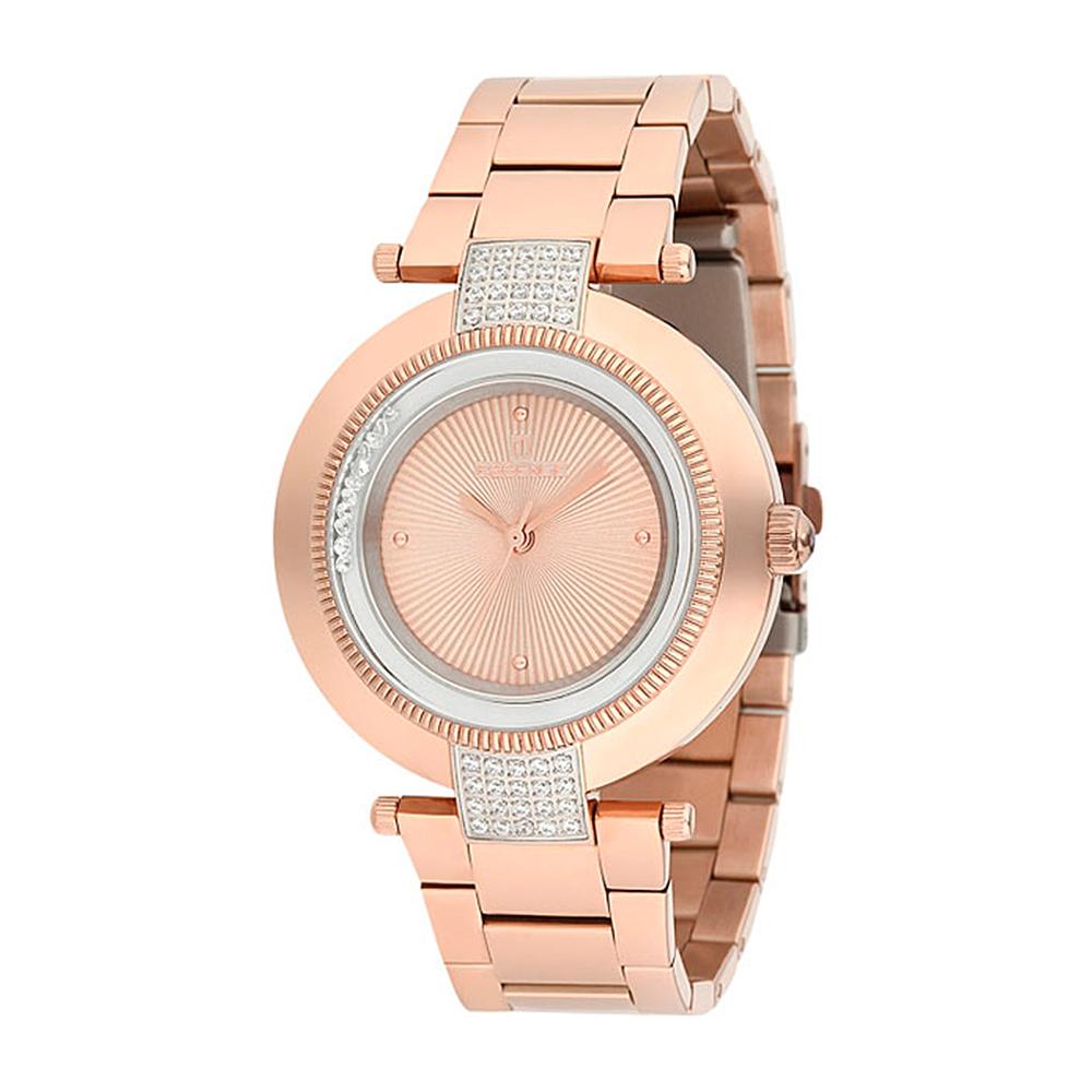 Женские часы ES6386FE.410 на стальном браслете с розовым PVD покрытием с минеральным стеклом в Санкт-Петербурге