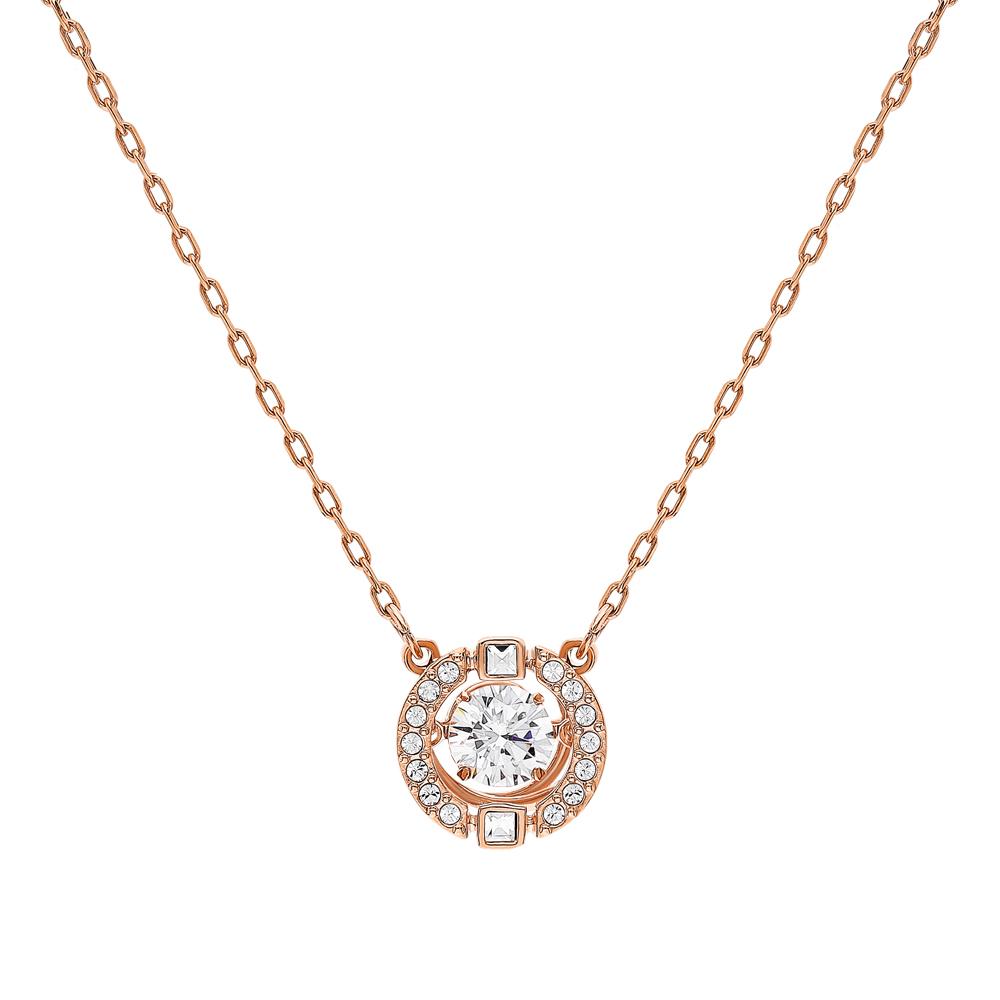 Стальное ожерелье в подарочной упаковке с кристаллами swarovski в Екатеринбурге