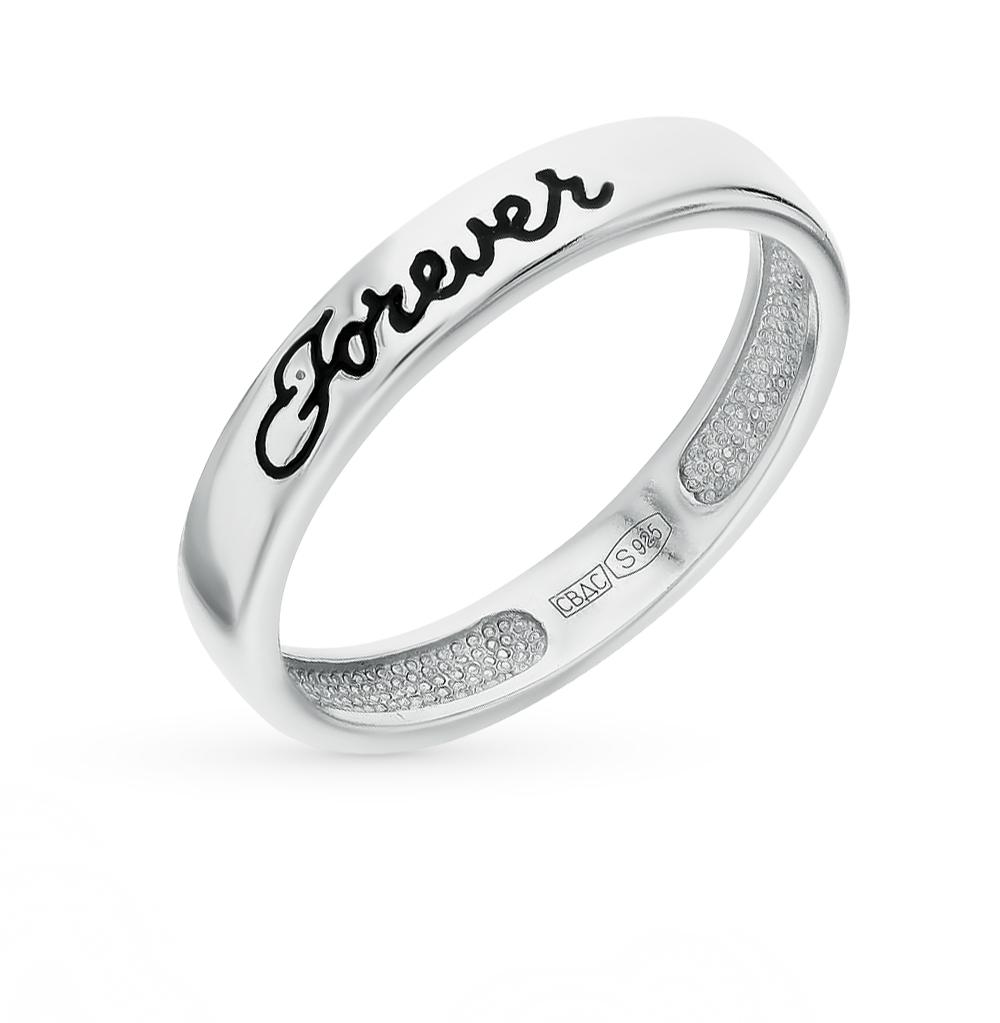 серебряное кольцо с эмалью SOKOLOV 94012123