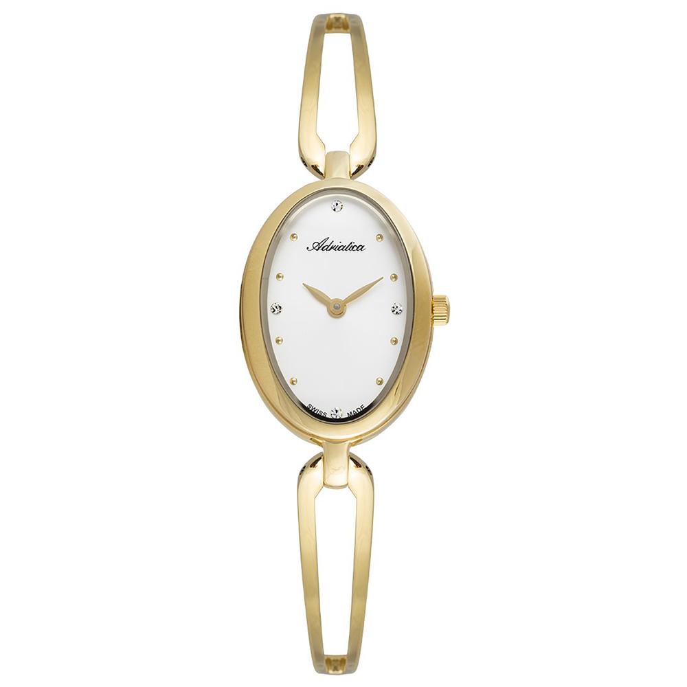 Фото «Женские часы A3505.1113Q на стальном браслете с PVD покрытием с минеральным стеклом»