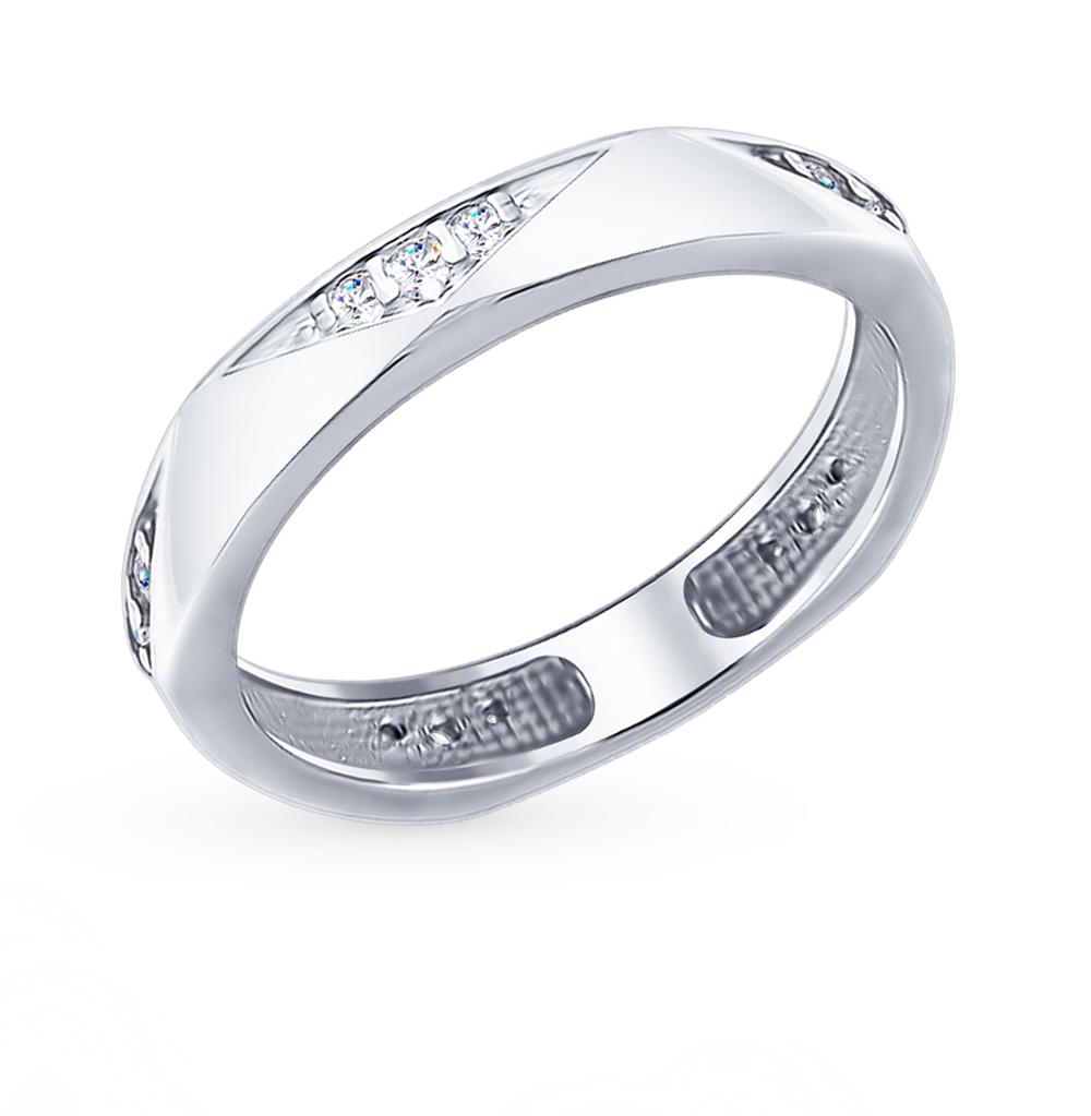 серебряное кольцо с фианитами SOKOLOV 94012401