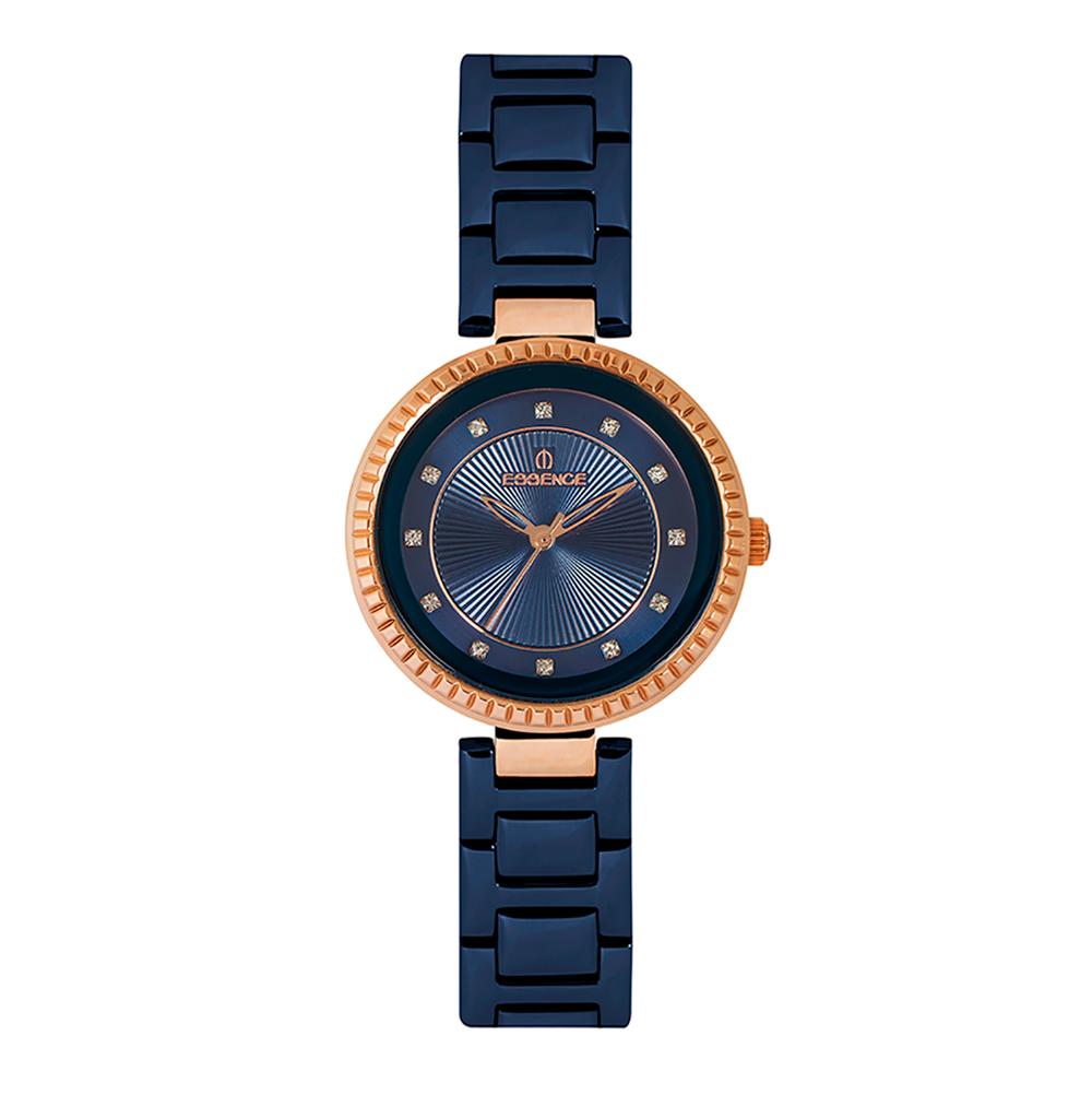 Фото «Женские  кварцевые часы ES6500FE.490 на стальном браслете с минеральным стеклом»