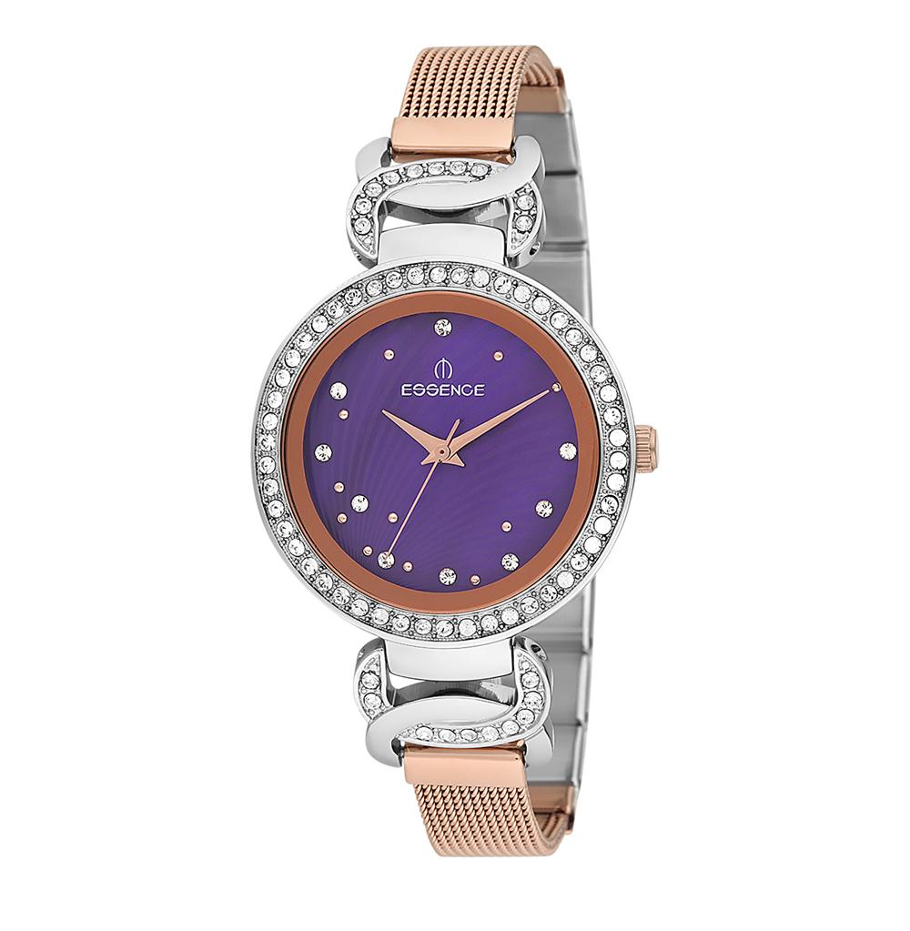 Женские часы D937.580 на стальном браслете с частичным розовым IP покрытием с минеральным стеклом в Санкт-Петербурге